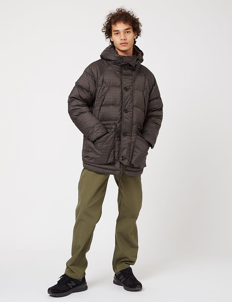 Eastlogue Utility Shield Parka - Brown Gingham