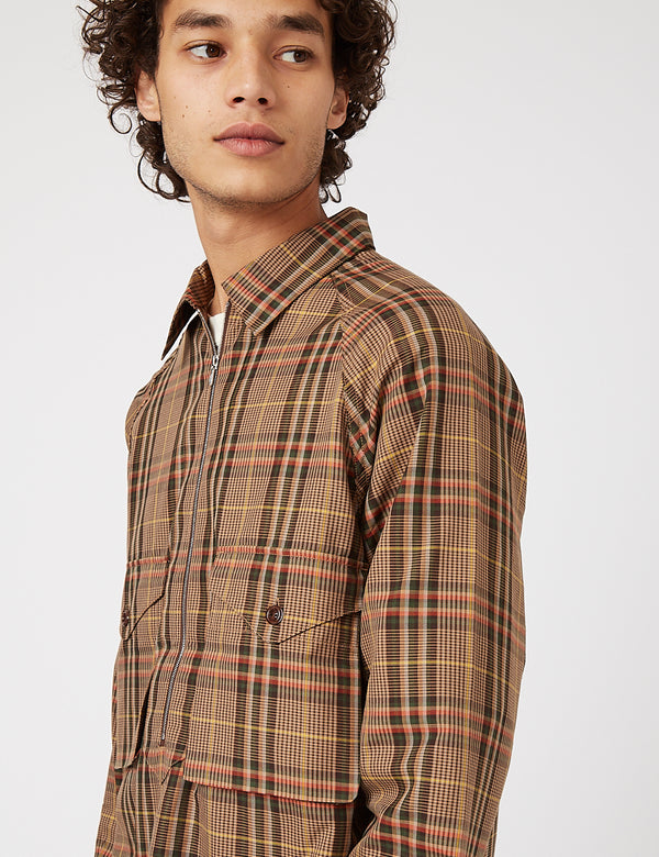 Eastlogue Scout Pullover Shirt (Multi Check) - Beige