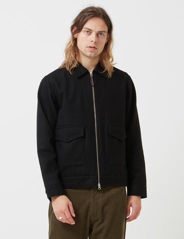 Universal Works Battleman Jacket - Black