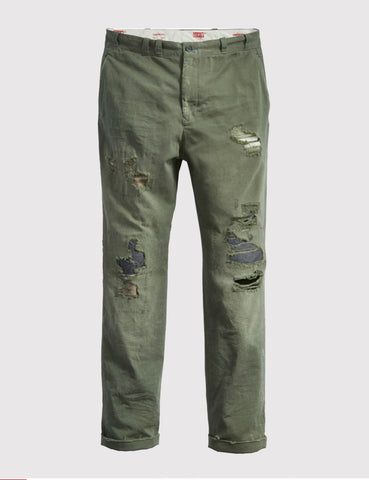 Levis Vintage Clothing Tab Twills Chino - Green Flash