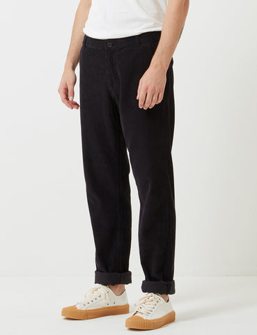 Universal Works Cord Aston Pant - Midnight Blue