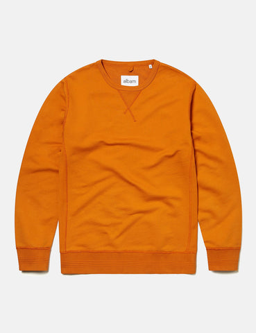 Albam Classic Sweatshirt - Burnt Orange - Article