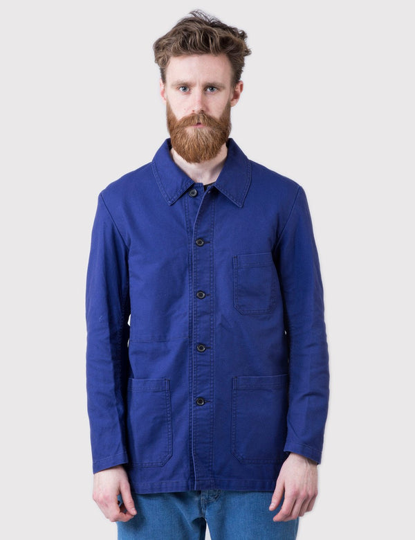 Vetra French Workwear 4 Jacket (Cotton Drill) - Hydrone Blue