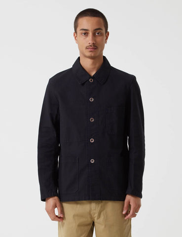 Vetra French Workwear 4 Jacket 5-Short (Twill Cotton) - Black