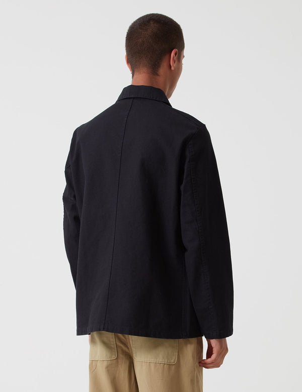 Vetra French Workwear 4 Jacket 5-Short (Twill Cotton) - Black - Article.
