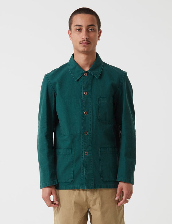 Vetra French Workwear 4 Jacket 5-Short (Twill Cotton) - Bottle Green - Article.