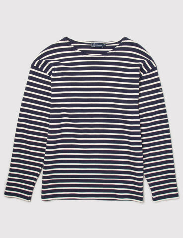Armor Lux Loctudy Breton T-Shirt - Navy/Nature - Article