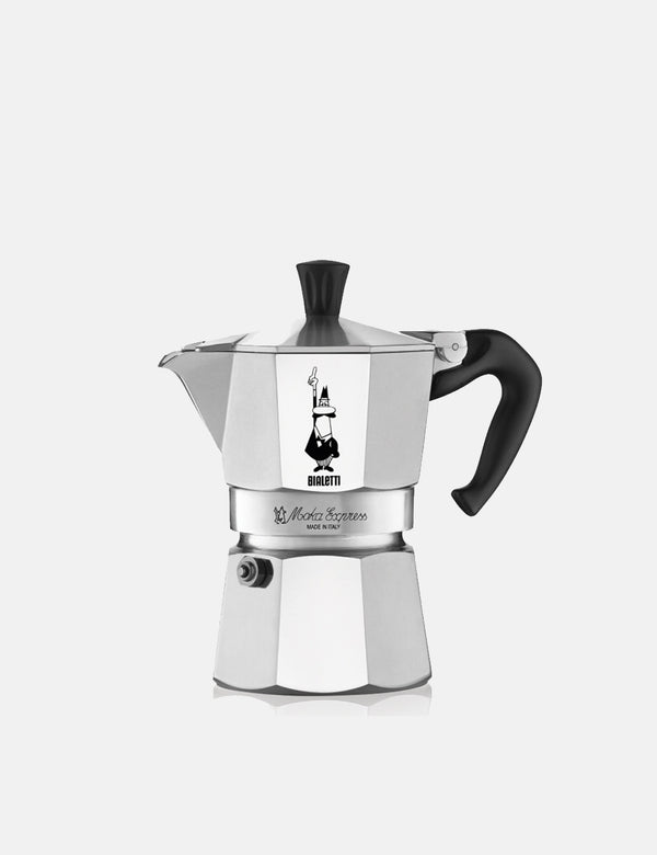 Bialetti Moka Express Stovetop Coffee Maker - Aluminium (3 cup) - Article