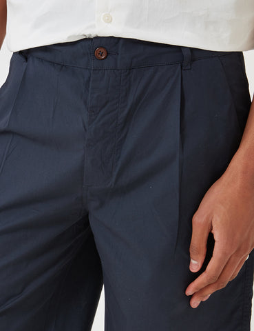 Universal Works Poplin Walk Shorts - Navy Blue