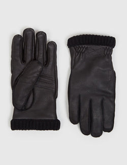 Hestra Primaloft Rib Gloves - Black