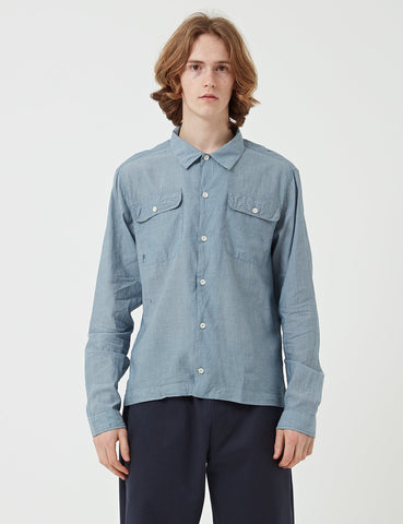 Albam Press Shirt Striped - Blue - Article