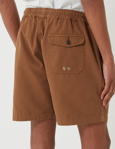 Universal Works Beach Shorts - Khaki