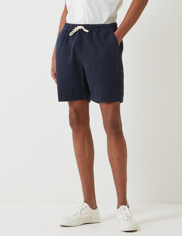 Universal Works Beach Shorts - Navy Blue
