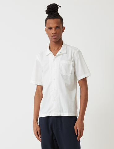 Universal Works Poplin Road Shirt - Ecru