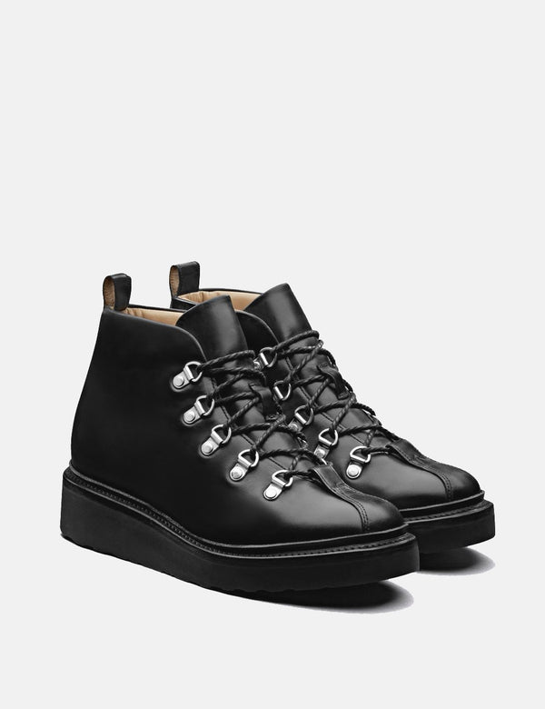 Grenson Women's Bridget Ski Boot (Leather) - Black