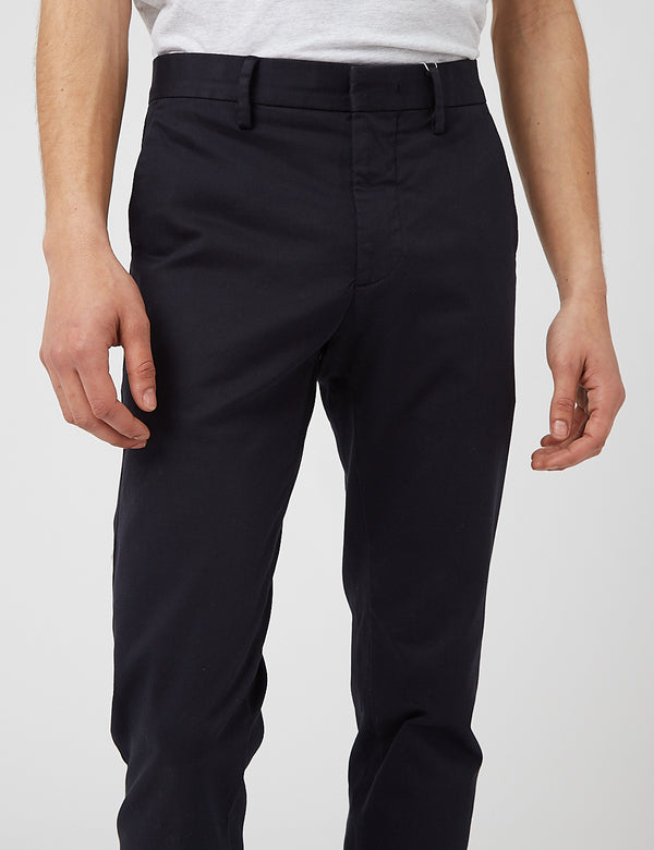NN07 Theo 1420 Regular Chino - Navy Blue