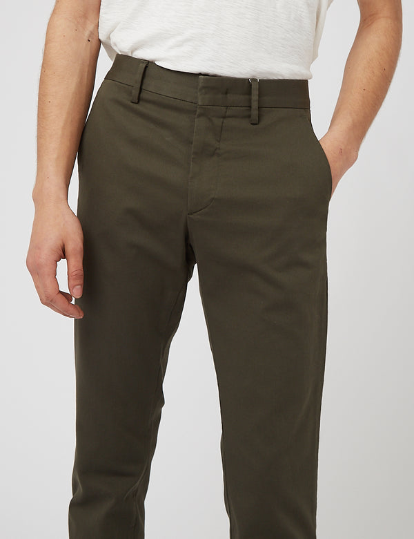 NN07 Theo 1420 Regular Chino - Army Green