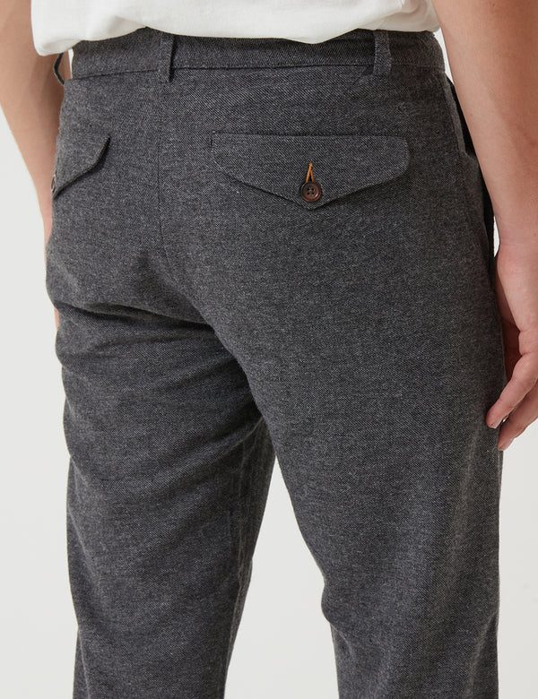 Universal Works Aston Trousers (Wool) - Grey