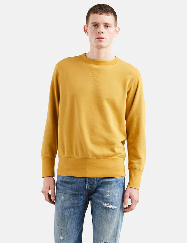 Levis Vintage Clothing Bay Meadows Sweatshirt - Lemon Tree