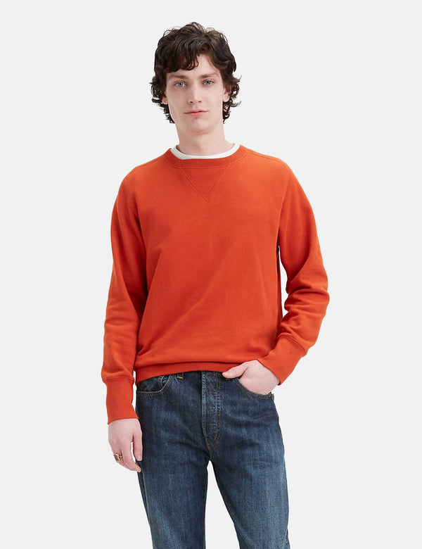 Levis Vintage Clothing Bay Meadows Sweatshirt - Rooibos Tea