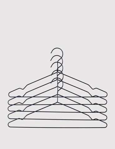 Hay Hang Coat Hangers Set - Black