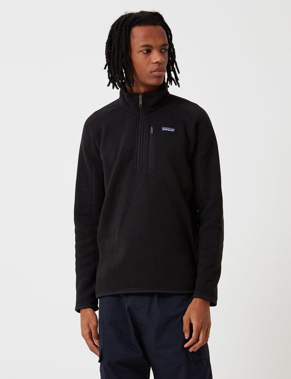 Patagonia Better Sweater Quarter Fleece - Black