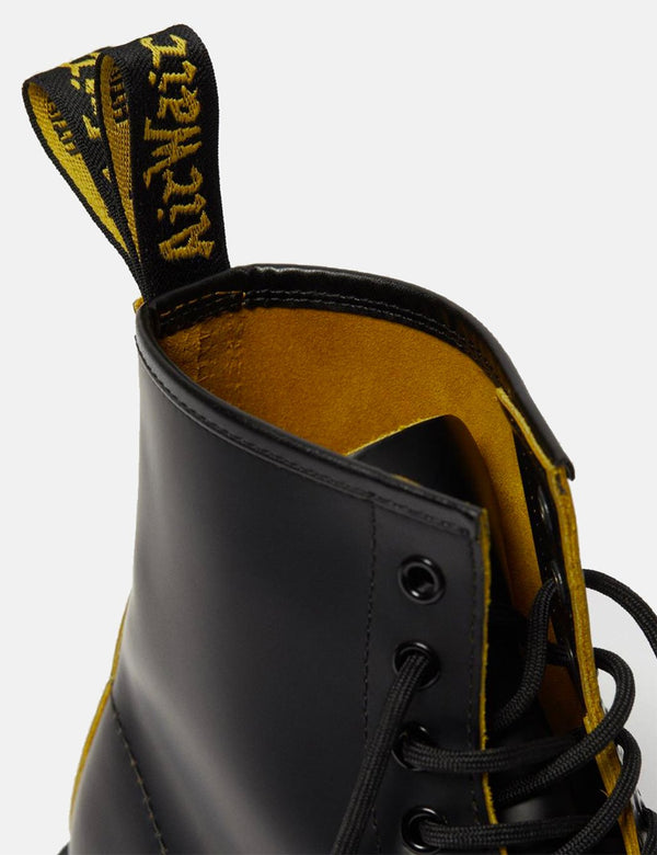 Dr Martens 1460 8 Eye Boot (26100032) - Black/Yellow