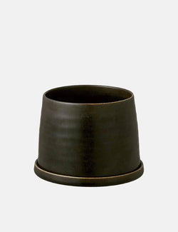 Kinto Plant Pot 192 (125mm) - Black