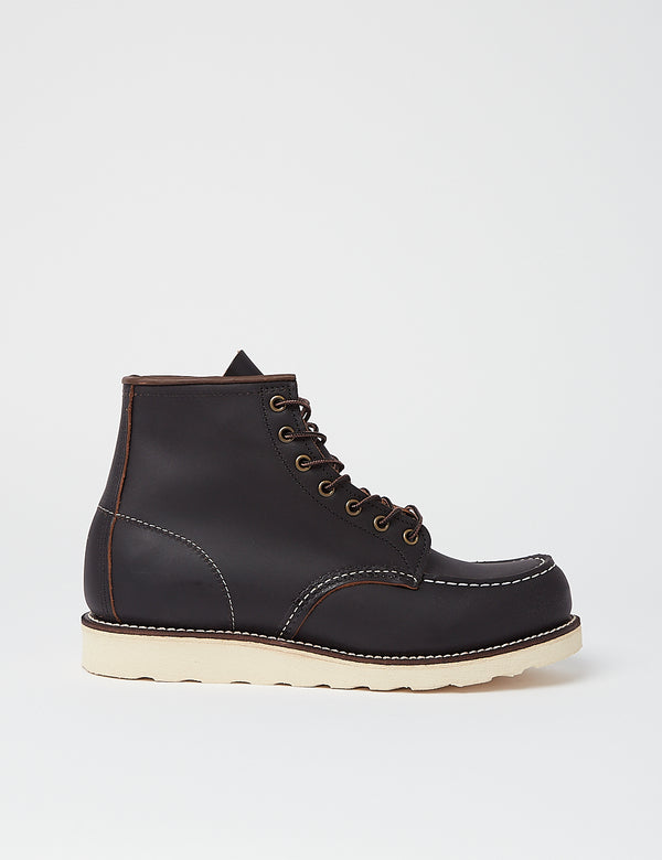 "Red Wing Heritage Work 6""Moc Toe Boot(8849)-ブラック"