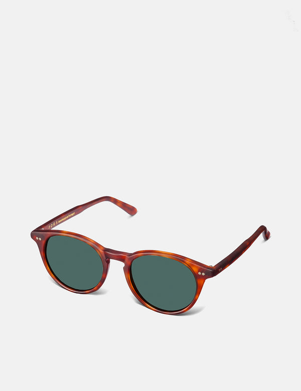 Fora GoldLover Sunglasses - Dark Brown Matte