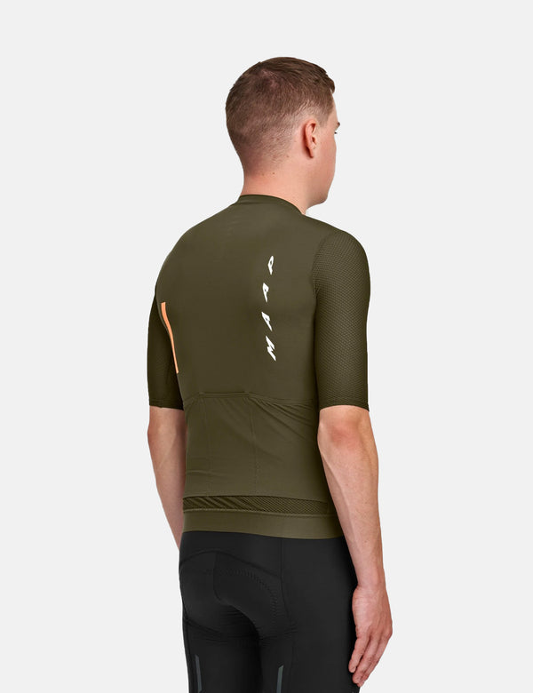 MAAP Evade Pro Base Jersey - Olive Green
