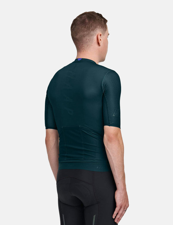 MAAP Stealth Race Fit Jersey - Midnight Green