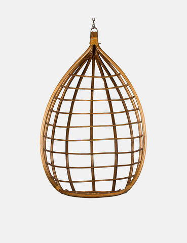 Broste Copenhagen Lot Rattan Hanging Chair - Honey Brown - Article
