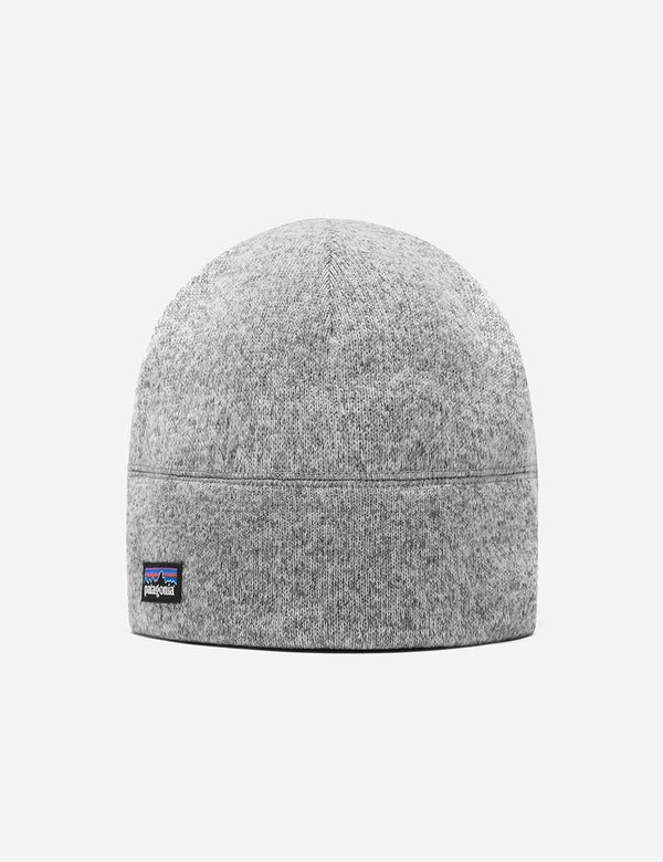 Patagonia Better Sweater Beanie Hat (Fleece) - Stonewash Grey