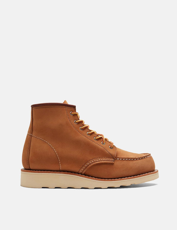 "Women's Red Wing Heritage 6"" Moc Toe Boots (3372) - Khaki Honey Chinook"