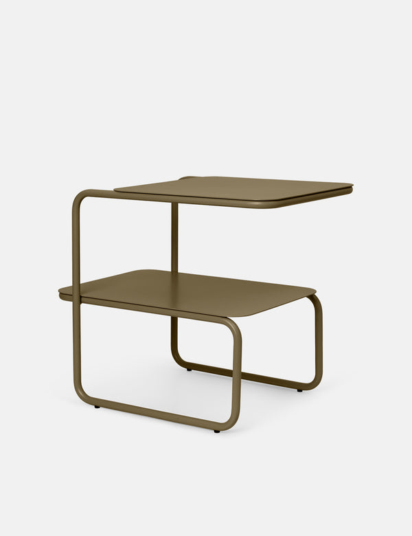 Ferm Living Level Side Table - Olive Green