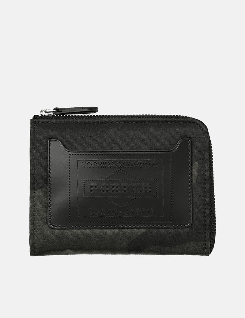 Porter Yoshida & Co Multi Wallet (Camouflage) - Black