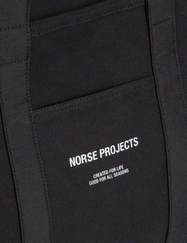 Norse Projects Stefan Canvas Bag - Schwarz