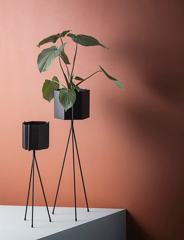 Ferm Living Plant Stand (High) - Black