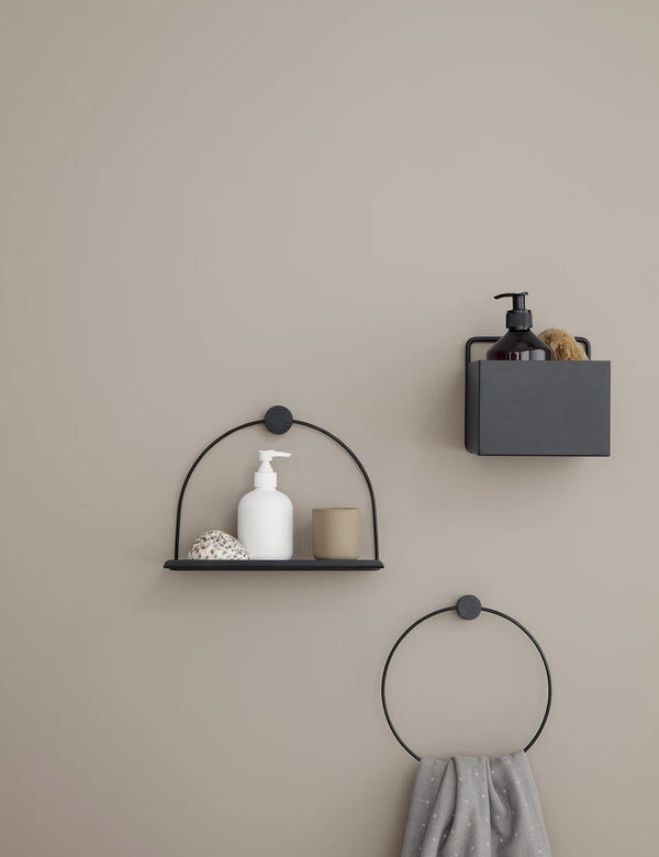 Ferm Living Towel Hanger - Black