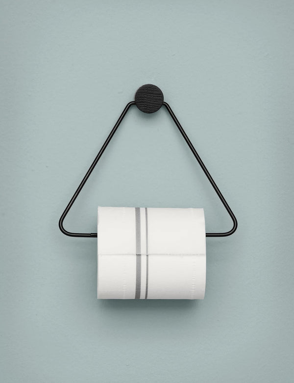 Ferm Living Toilet Paper Holder - Black