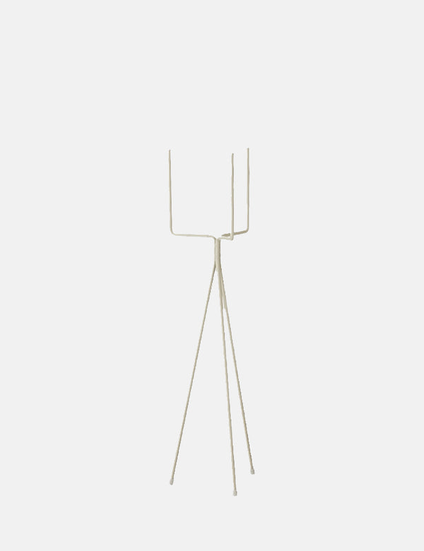Ferm Living Plant Stand (Low-Small) - Light Grey
