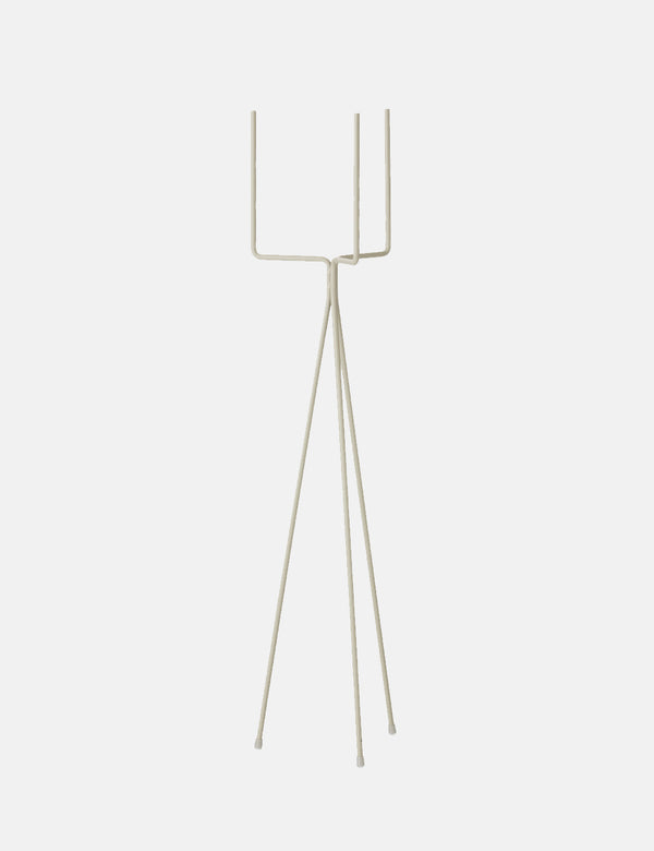 Ferm Living Plant Stand (High-Large) - Light Grey