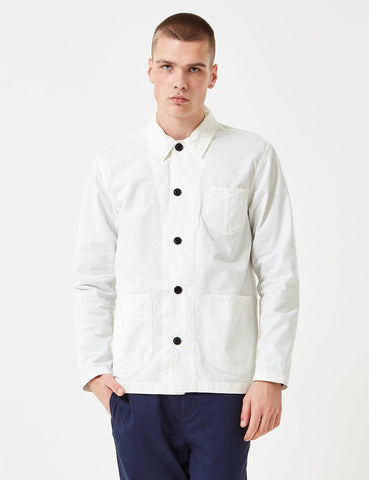 Albam Loco Work Jacket - White - Article