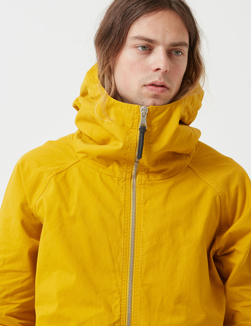 Albam Zipped Hooded Parka - Rich Yellow - Article