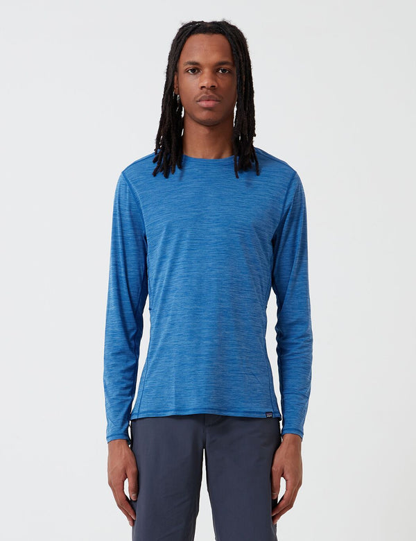 Patagonia Capilene¨ Cool Lightweight Long-Sleeved Shirt - Superior Blue