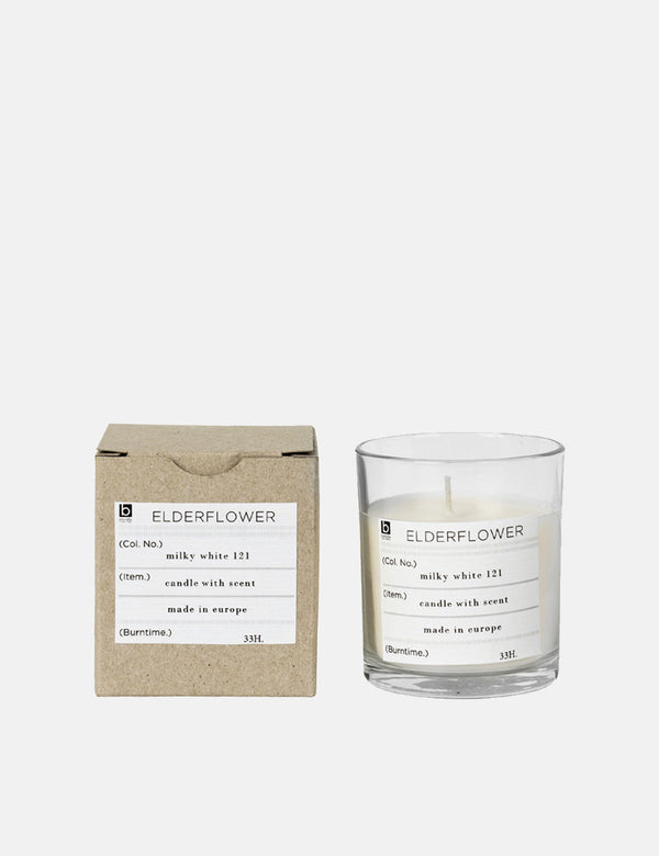 Broste Copenhagen Scented Candle Elderflower - White - Article