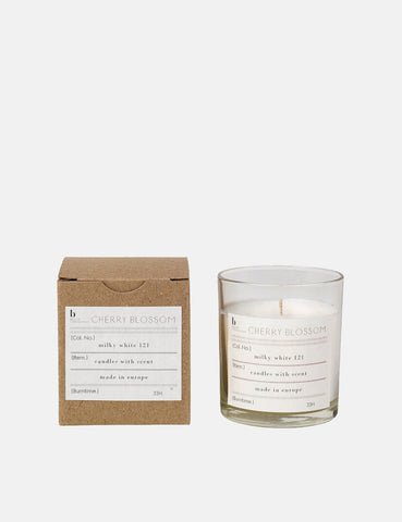 Broste Copenhagen Scented Candle Cherry Blossom - White - Article