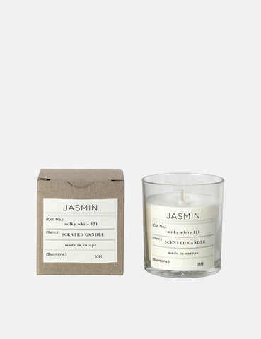 Broste Copenhagen Scented Candle Jasmin - White - Article