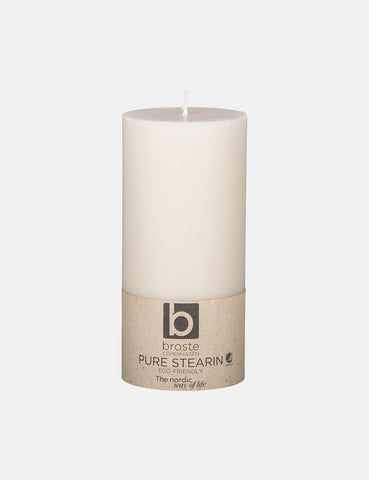 Broste Copenhagen Stearin Eco Candle - Sand Beige - Article